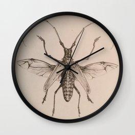Flying Beetle Wall Clock