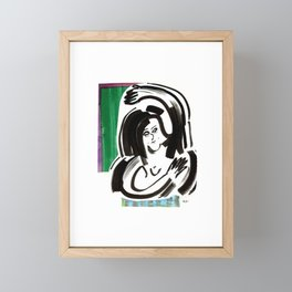 Entangled  Framed Mini Art Print