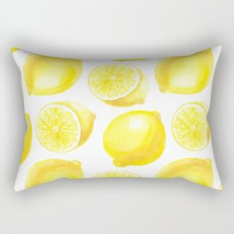 Lemons pattern design Rectangular Pillow