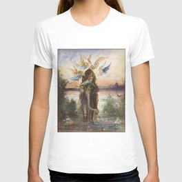 The Sacred Elepant Painting (1882) T-shirt