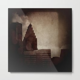 A City with No Name Metal Print