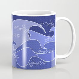 Waves V blue colors V duffle bags Coffee Mug