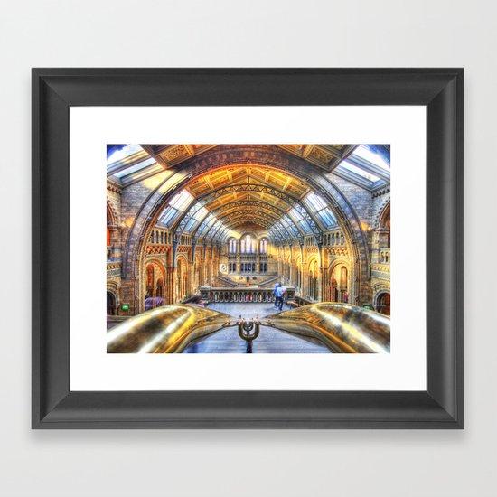 Rails Framed Art Print
