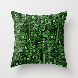 Short Circuits Throw Pillow