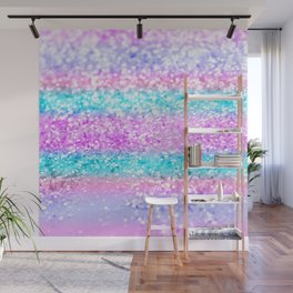 Unicorn Girls Glitter #15 #shiny #decor #art #society6 Wall Mural