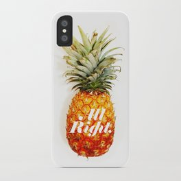 All Right. (Tropical) iPhone Case