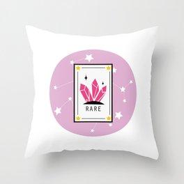 Rare Throw Pillow