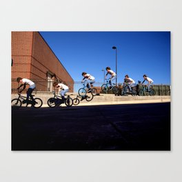 Johnny Sequential Canvas Print