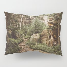 Table Mountains - Landscape and Nature Photography Pillow Sham