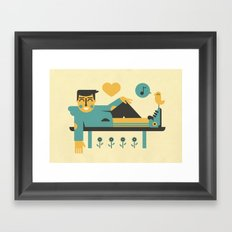 Music ... Framed Art Print