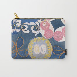 The Ten Largest No. 01 Childhood Group IV Hilma Af Klint Carry-All Pouch