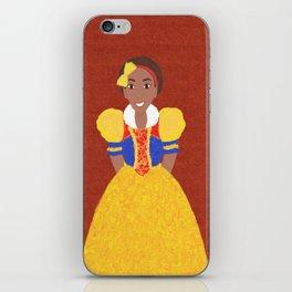 Princess Snow iPhone Skin