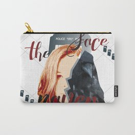 Face the Raven Carry-All Pouch