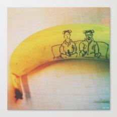 Breaking Bad Banana Canvas Print