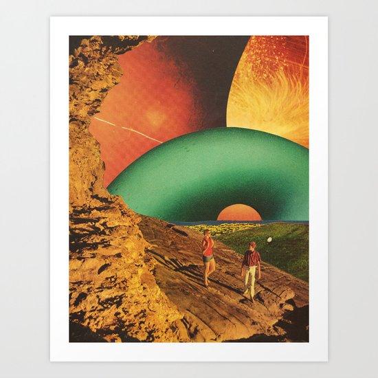 Eden in transition Art Print
