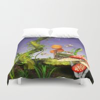 fairytale Duvet Covers featuring fairytale by Ancello