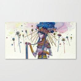 The bill Canvas Print