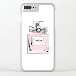 Sweet perfume Clear iPhone Case