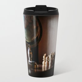 Library Shelves Travel Mug