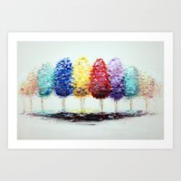 Personal Forest Art Print