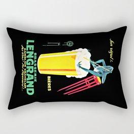 Brasserie Lengrand Rectangular Pillow