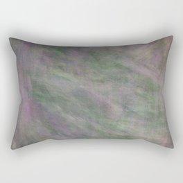 Rosen garden green purple look Rectangular Pillow