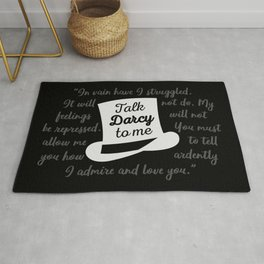 Talk Darcy To Me II Rug