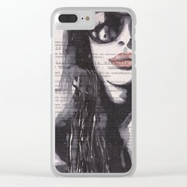 Irene [stolen portrait] Clear iPhone Case