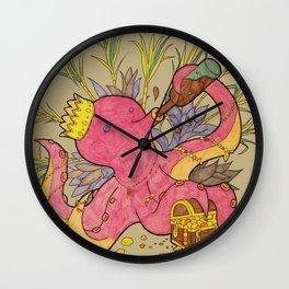 octopus king light Wall Clock