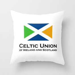 Celtic Union Throw Pillow