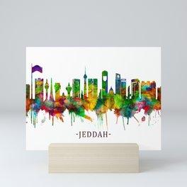 Jeddah Saudi Arabia Skyline Mini Art Print