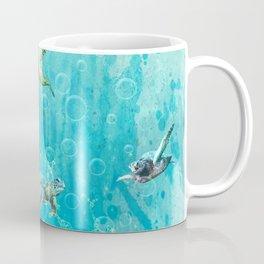 Swimming Turtles Coffee Mug