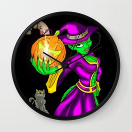 Hot Witch Wall Clock