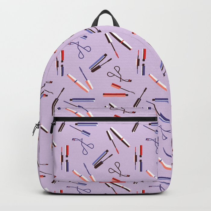 Mascara on my eyes Backpack