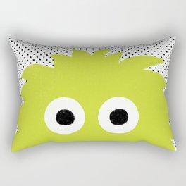 Green Monster Rectangular Pillow
