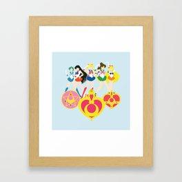 Sailor Soldiers Framed Art Print