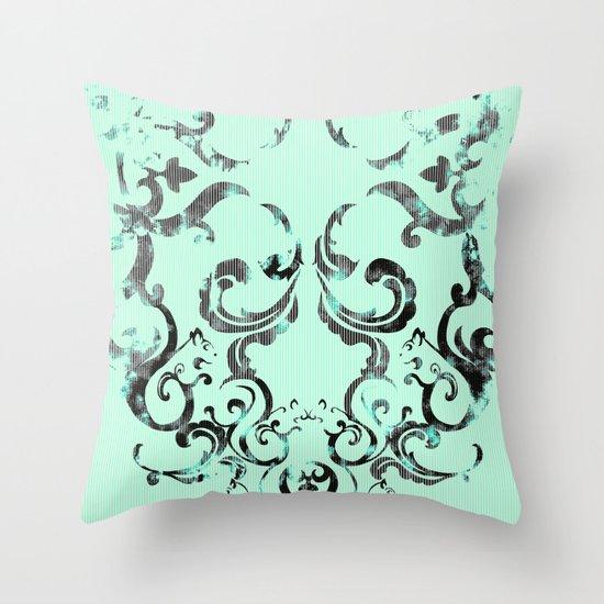 Squirrel Swirl Throw Pillow