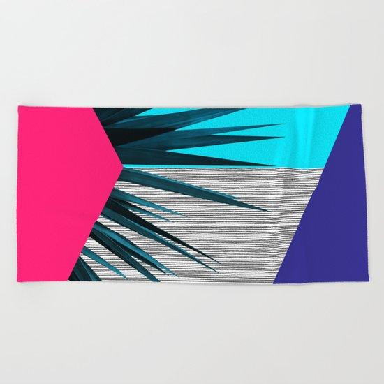 Eclectic Geometry 2 Beach Towel
