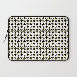 Snake and Triangle Pattern Laptop Sleeve