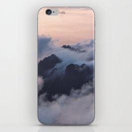 Higher we go iPhone Skin