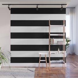 BLACK & WHITE STRIPES XL Wall Mural