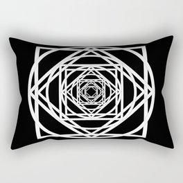 Diamonds in the Rounds Version 2 Rectangular Pillow