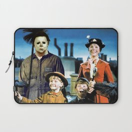 Michael Myers in Mary Poppins Laptop Sleeve