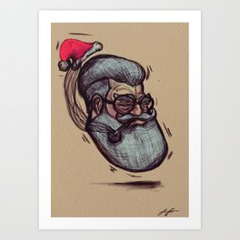 Saint Nick Art Print