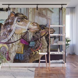 We Three Camels Wall Mural