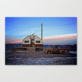 Tecopa at Twilight Canvas Print