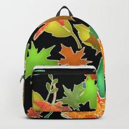 Herbstlaub colorful Backpack