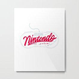 Nintendo Japan Metal Print