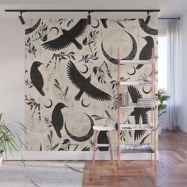 Raven Tarot Light Wall Mural