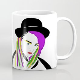 Boy George - Lover, Not A Fighter Coffee Mug